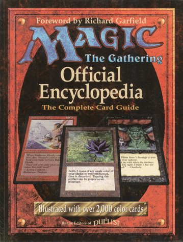 9781560251408: Magic: The Gathering -- Official Encyclopedia, Volume 1: The Complete Card Guide