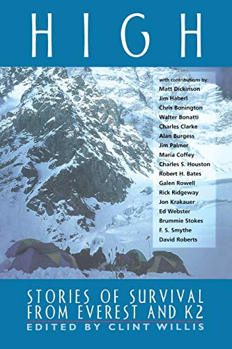 9781560252009: High: Stories of Survival from Everest and K2 (Adrenaline Books)