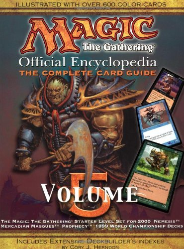 9781560252719: Magic - The Gathering: Magic: The Gathering - Official Encyclopedia, Volume 5 Complete Card Guide v. 5: Official Encyclopedia, The Complete Card Guide