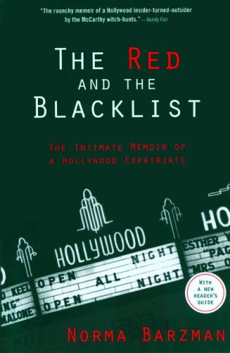 9781560256175: The Red and the Blacklist: The Intimate Memoir of a Hollywood Expatriate (Nation Books)