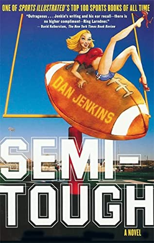 9781560258599: Semi-Tough: A Novel