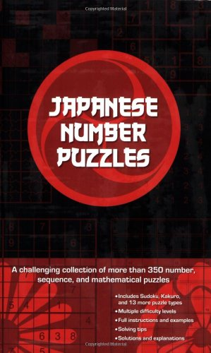 Japanese Number Puzzles : A Challenging Collection: Anthony Immanuvel; Puzzler