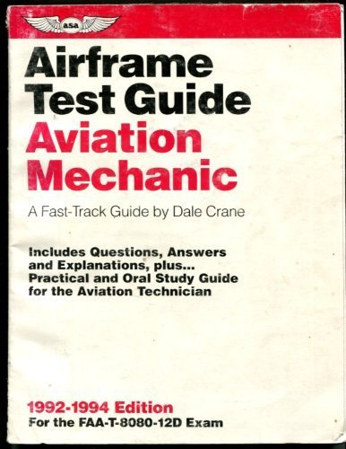 9781560271130: Aviation Mechanic Airframe Test Guide: A Fast