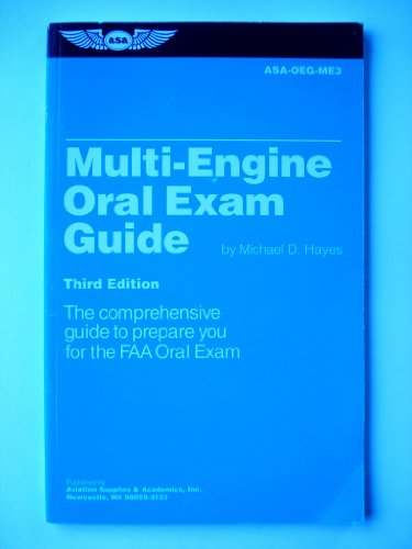9781560271932: Multi-Engine Oral Exam Guide: The Comprehensive Guide to Prepare You for the FAA Oral Exam