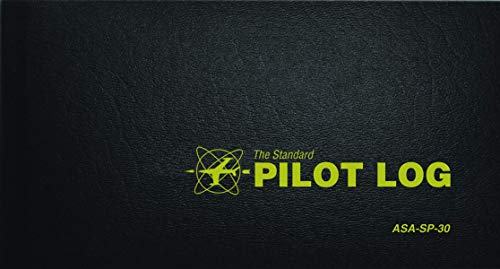 9781560273288: The Standard Pilot Log (Black): ASA-SP-30 (Standard Pilot Logbooks)