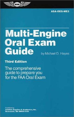 9781560274032: Multi-Engine Oral Exam Guide (Oral Exam Guide series)