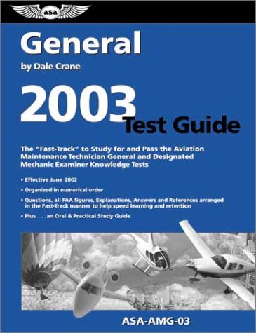 9781560274742: General Test Guide 2003 Asa-Amg-03