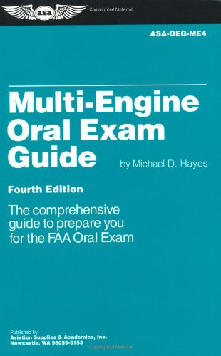 9781560275053: Multi-Engine Oral Exam Guide: The Comprehensive Guide to Prepare You for the FAA Oral Exam (Oral Exam Guide series)