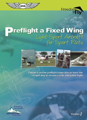 9781560275862: Preflight a Fixed Wing Light-Sport Aircraft: For Sport Pilots