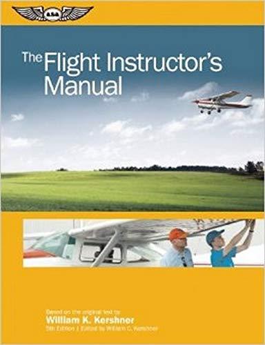 9781560279396: The Flight Instructor's Manual (The Flight Manuals Series)