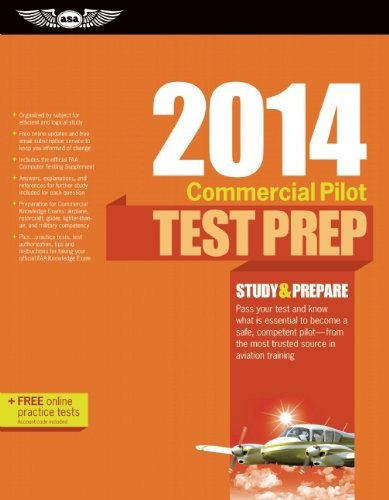 Commercial Pilot Test Prep 2014: Study & Prepare for the Commercial Airplane, Helicopter, ...
