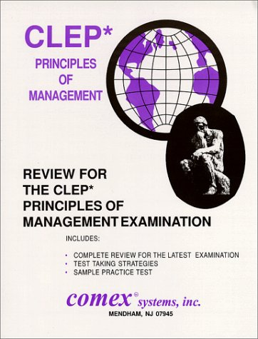 9781560301257: Review for the CLEP Principles of Management