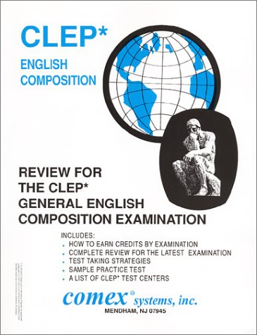 9781560301363: Review for Clep General English Composition Examination