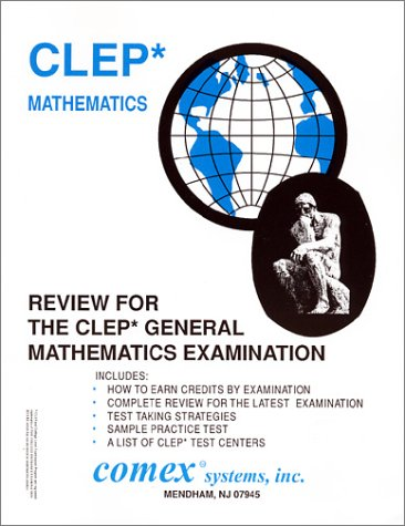 9781560301370: Review For The CLEP General Mathematics Examination