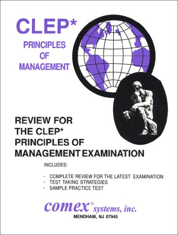 9781560301455: Review for the CLEP Principles of Management