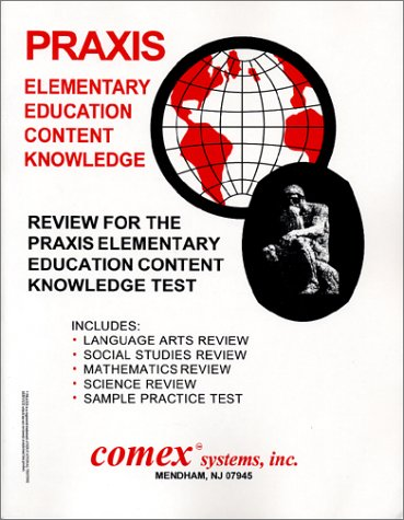 9781560301561: Review for the Praxis Elementary Content Knowledge Test