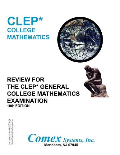 9781560302483: Review for the CLEP General College Mathematics
