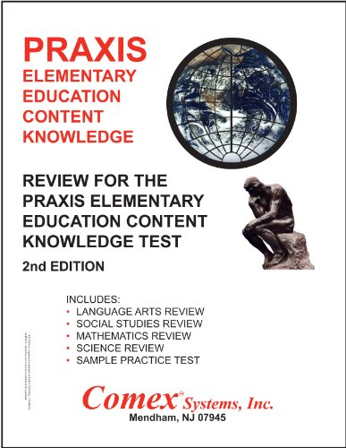 9781560302599: Review for the PRAXIS Elementary Education Content Knowledge Test