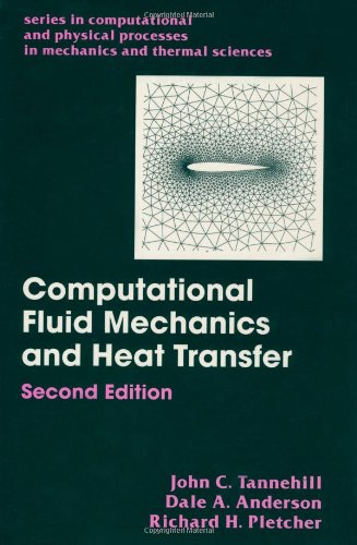 9781560320463: Computational Fluid Mechanics and Heat Transfer, Second Edition