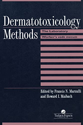9781560326724: Dermatotoxicology Methods: The Laboratory Worker's Ready Reference