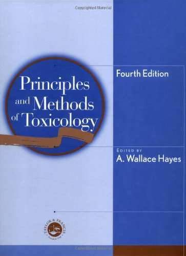 9781560328148: Principles and Methods of Toxicology: 4th Edition