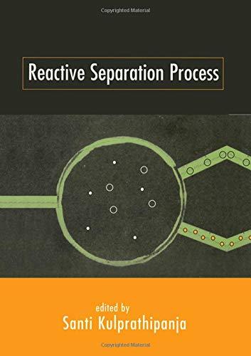 9781560328254: Reactive Separation Processes