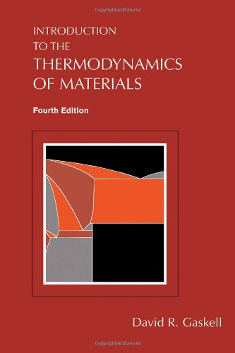 9781560329923: Introduction to the Thermodynamics of Materials, 4th Edition