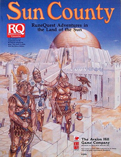 Sun County: RuneQuest Adventures in the Land of the Sun: O'Brien, Michael