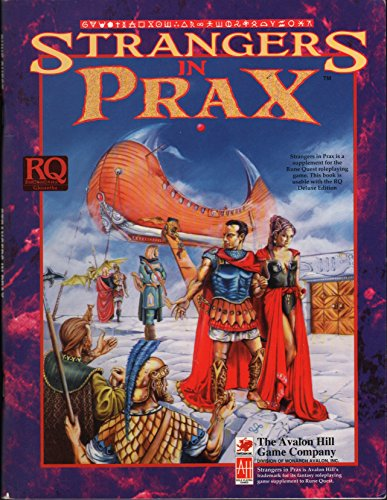 9781560380825: Strangers in Prax (RuneQuest Role Playing Game)