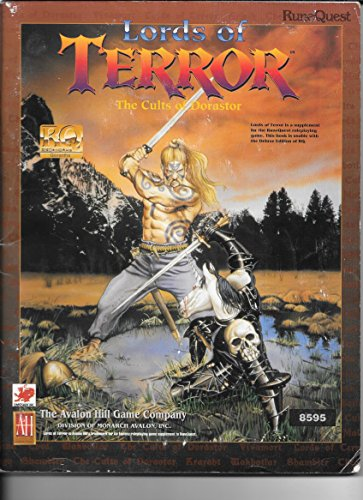 9781560380849: Lords of Terror: The Cults of Dorastor (Runequest)