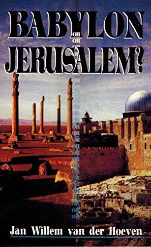 9781560431145: Babylon or Jerusalem
