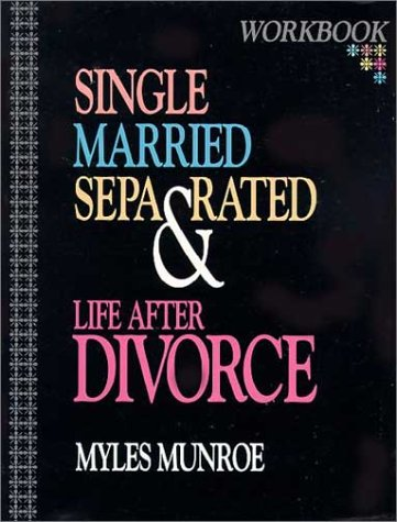 9781560431152: Single, Married, Separated and Life after Divorce (Workbook)