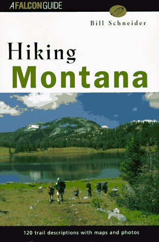 9781560443810: Hiking Montana (Falcon Guide)