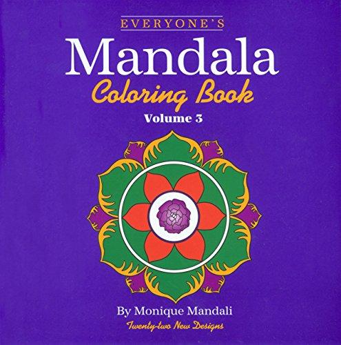 9781560445852: Everyone's Mandala Coloring Book (Volume 3)