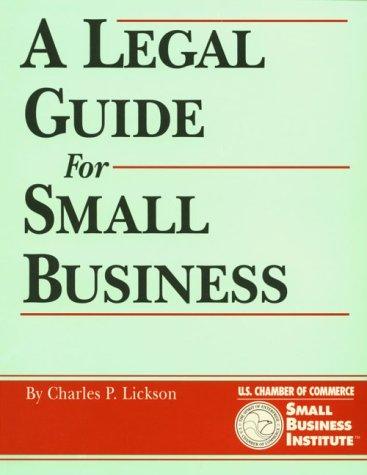 Crisp: Legal Guide for Small Business (The Crisp Small Business & Entrepreneurship): Charles ...