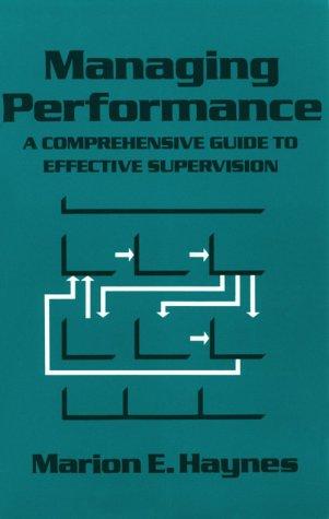 9781560523536: Crisp: Managing Performance