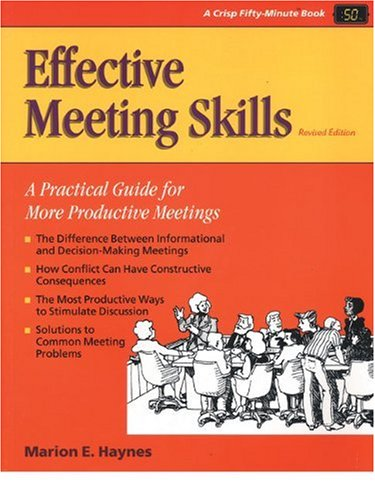 9781560523857: Effective Meeting Skills, Revised (50-Minute Series)