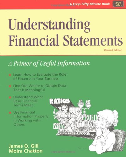 Understanding Financial Statements: A Primer of Useful: James O. Gill
