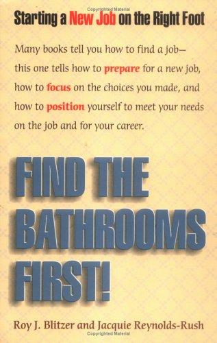 Crisp: Find the Bathrooms First (Crisp Professional: Blitzer, Roy J.