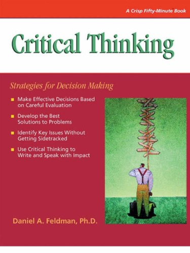 9781560526483: Critical Thinking: Strategies for Decision Making (50 Minute)