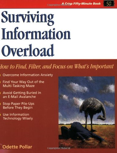 9781560526940: Crisp: Surviving Information Overload: How to Find, Filter, and Focus on What's Important (A Fifty-Minute Series Book)