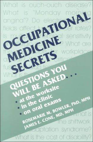9781560531616: Occupational Medicine Secrets