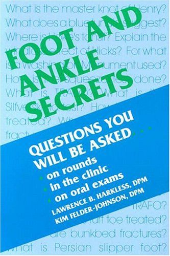 9781560532118: Foot and Ankle Secrets, 1e