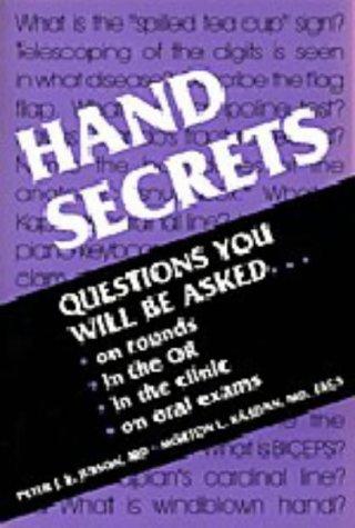 Hand Secrets (The Secrets Series): Peter J. L., Md Jebson, Morton L. Kasdan