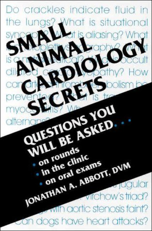 9781560533528: Small Animal Cardiology Secrets, 1e
