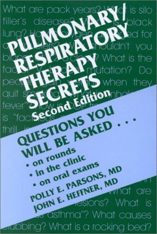 9781560534273: Pulmonary/Respiratory Therapy Secrets