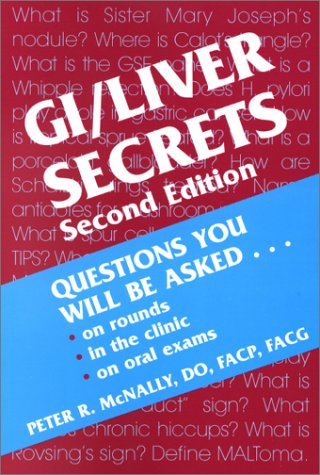 9781560534396: GI/Liver Secrets (The Secrets Series)