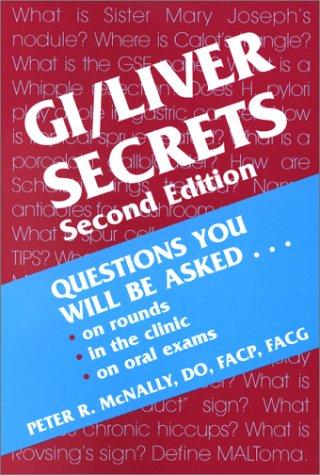 9781560534396: GI/Liver Secrets (The Secrets Series)