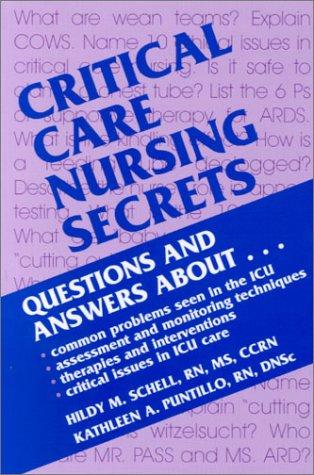 9781560534549: Critical Care Nursing Secrets, 1e
