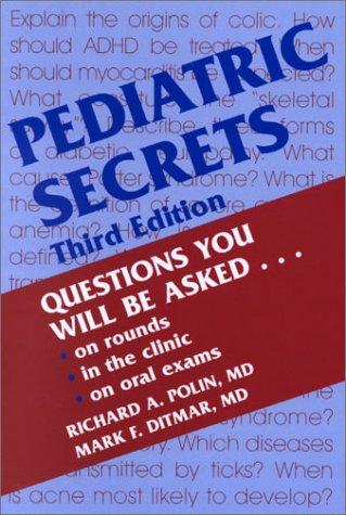 9781560534563: Pediatric Secrets